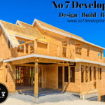 Framing Of House Completed By No 7 Developments Of Mount Vernon, WA.