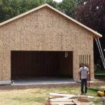 Framing Project Completed In Whatcom County WA