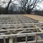 Framing Completed By No 7 Development