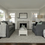 Living Room Remodeled By No 7 Development. Home Remodeling Contractor
